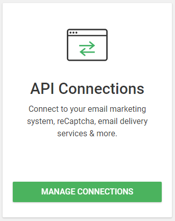 API Connection Manager